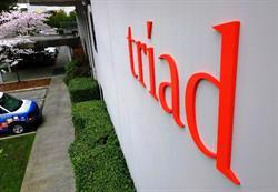 Triad Building 3D Sign