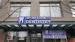 Implant & Cosmetic Dentistry Channel Letter Sign