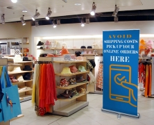 Store interior signs