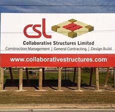 CSL Site Sign