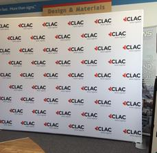 CLAC EZ Tube Display Wall