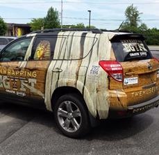 The Museum: Unwrapping Egypt Vehicle Wrap