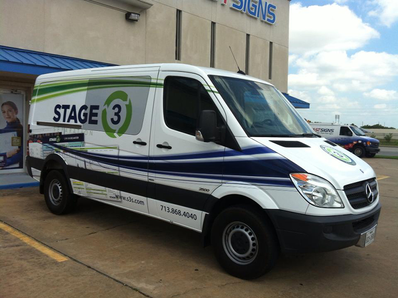 Houston vehicle wraps