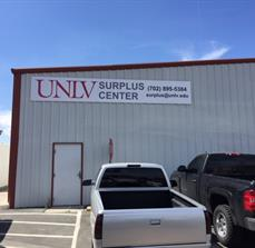 Exterior Building sign for UNLV