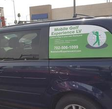 UV Gloss Laminated Vehicle Window Decals