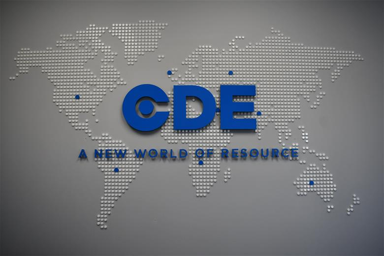 CDE Global wall graphics