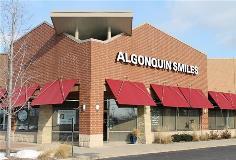 Algonquin Smiles Building Dimensional Lettering