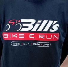 Bill's Bike & Run Printed T-Shirts