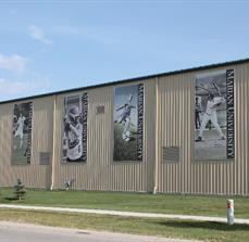 Marian University Athletic Building Banners