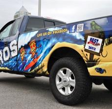 Custom Truck Wraps and Graphics