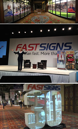 FASTSIGNS® Celebrates 30 Years of Success at International Convention