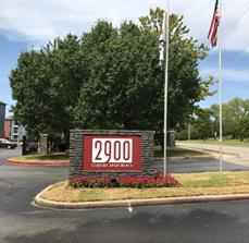 2900 Apartments Monument Sign