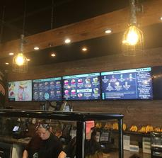 Frutta Bowls Digital Menu Boards