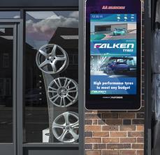 Falken Tyres Digital Sign