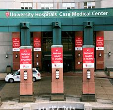 University Hospitals Case Medical Center Banners