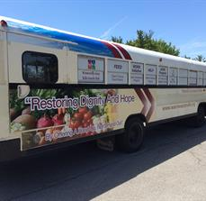 Westerville Area Resource Ministry Bus Wrap