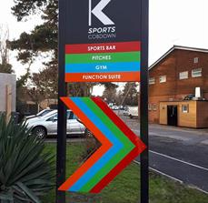 K-Sports Wayfinding Signs