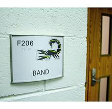 Farmington High School Classroom Sign