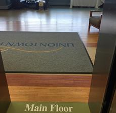 Uniontown Hospital Floor Graphics