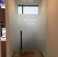 Recovery Room Window Graphics