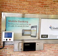 Citadel Bank Drive Thru Window Graphics