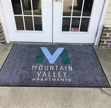 Mountain Valley Apartments Floor Mat