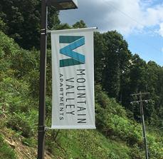 Mountain Valley Apartments Flag