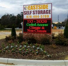 Eastside Storage Monument Sign