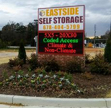 Eastside Storage Monument Sign