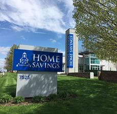 Home Savings Bank Monument Sign