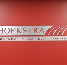 Hoekstra Transportation Building Sign