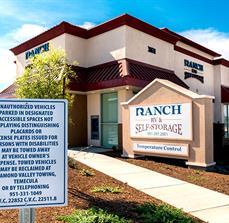 Ranch RV Storage Parking Sign