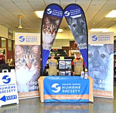 Mohawk Hudson Humane Society A-Frame, Table Top Displays, Flags, and Banner Stands