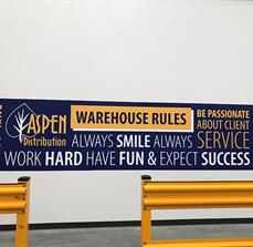 Aspen Distribution Wall Graphics