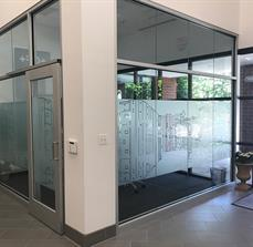 Custom Frosted Window Graphics
