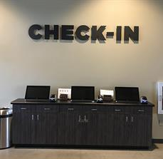 Rock Point Church Dimensional Check-In Letters
