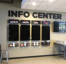 Rock Point Church Dimensional Info Center Letters