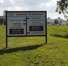 Camco Chemical Company Site Sign