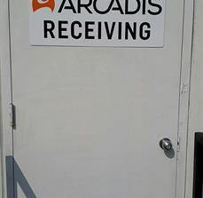 Arcadis Vinyl Door Lettering