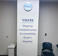 Values Wall Letters