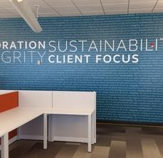 Custom Wall Graphics and Lettering