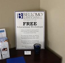 Bellomo & Associates, LLC. Table Top Displays