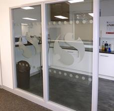 Etched Window Vinyl - Indoor Graphics-UK