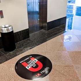 branded floor graphics