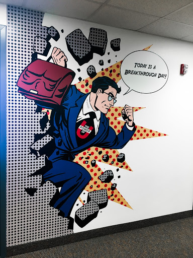 branded wall graphics