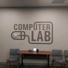 signs for computer labs