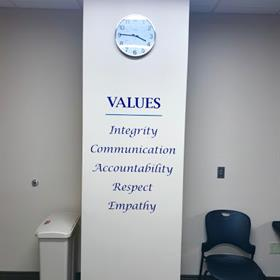 branded signs and graphics