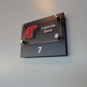 id room signage