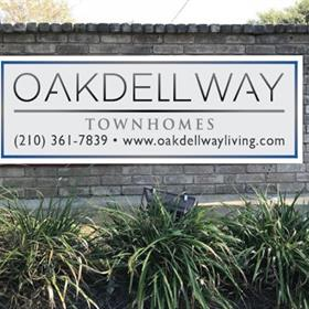 apartment entrance signs