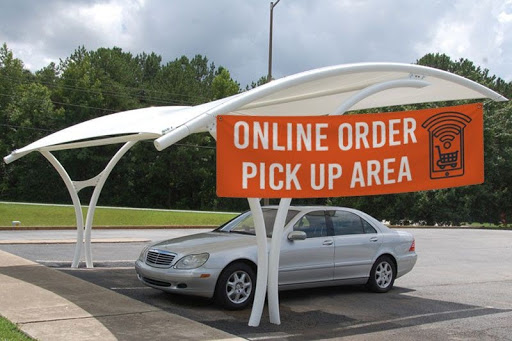 Curbside Pickup & Service Signs